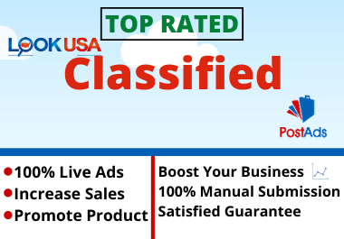 Post 30 Ads Top PR9 Classified USA,  UK,  CANADA,  etc Ad Posting Sites.