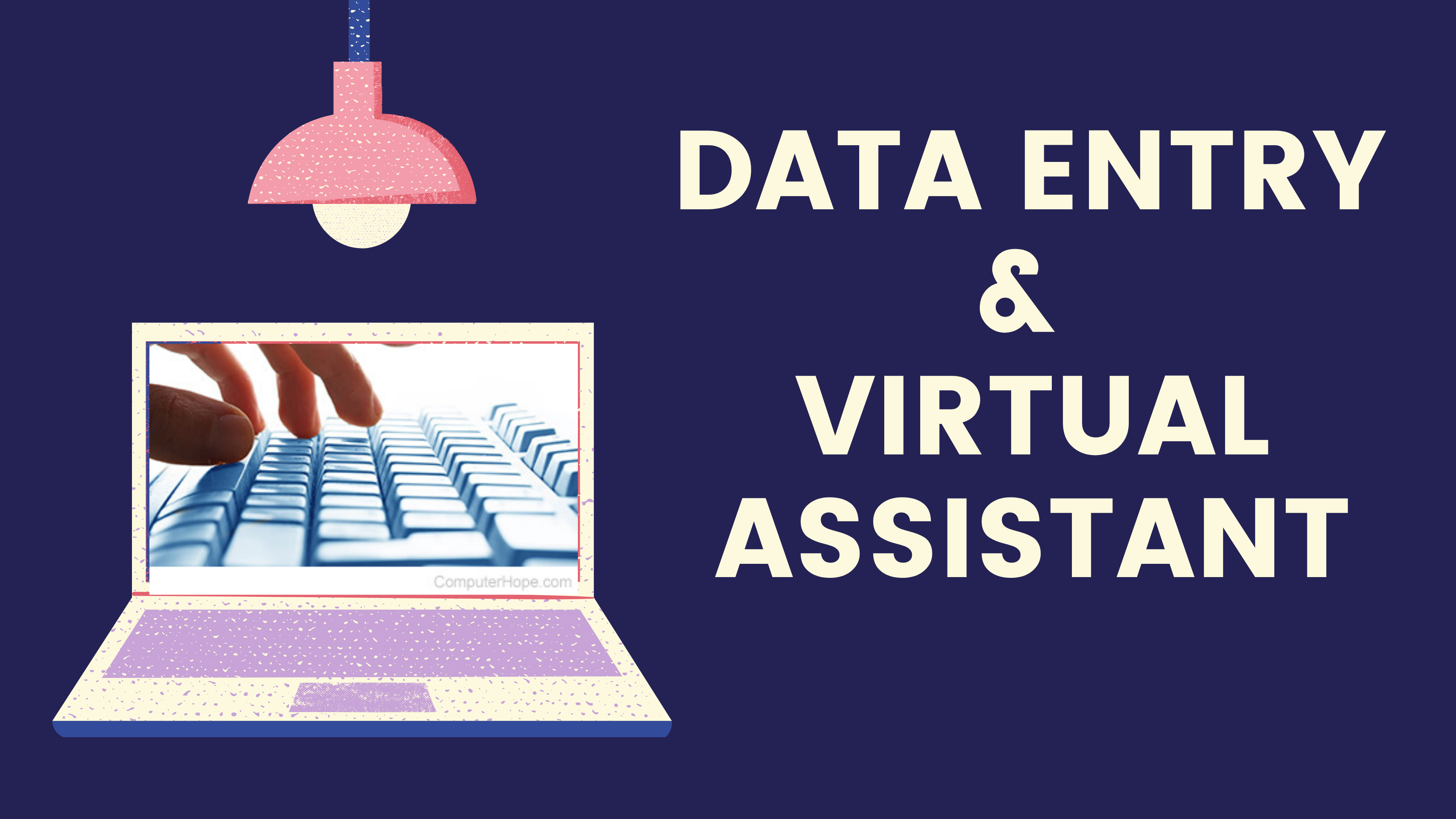I will do any kind of data entry and will be your virtual assistant