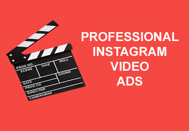 I will create an instagram video ad