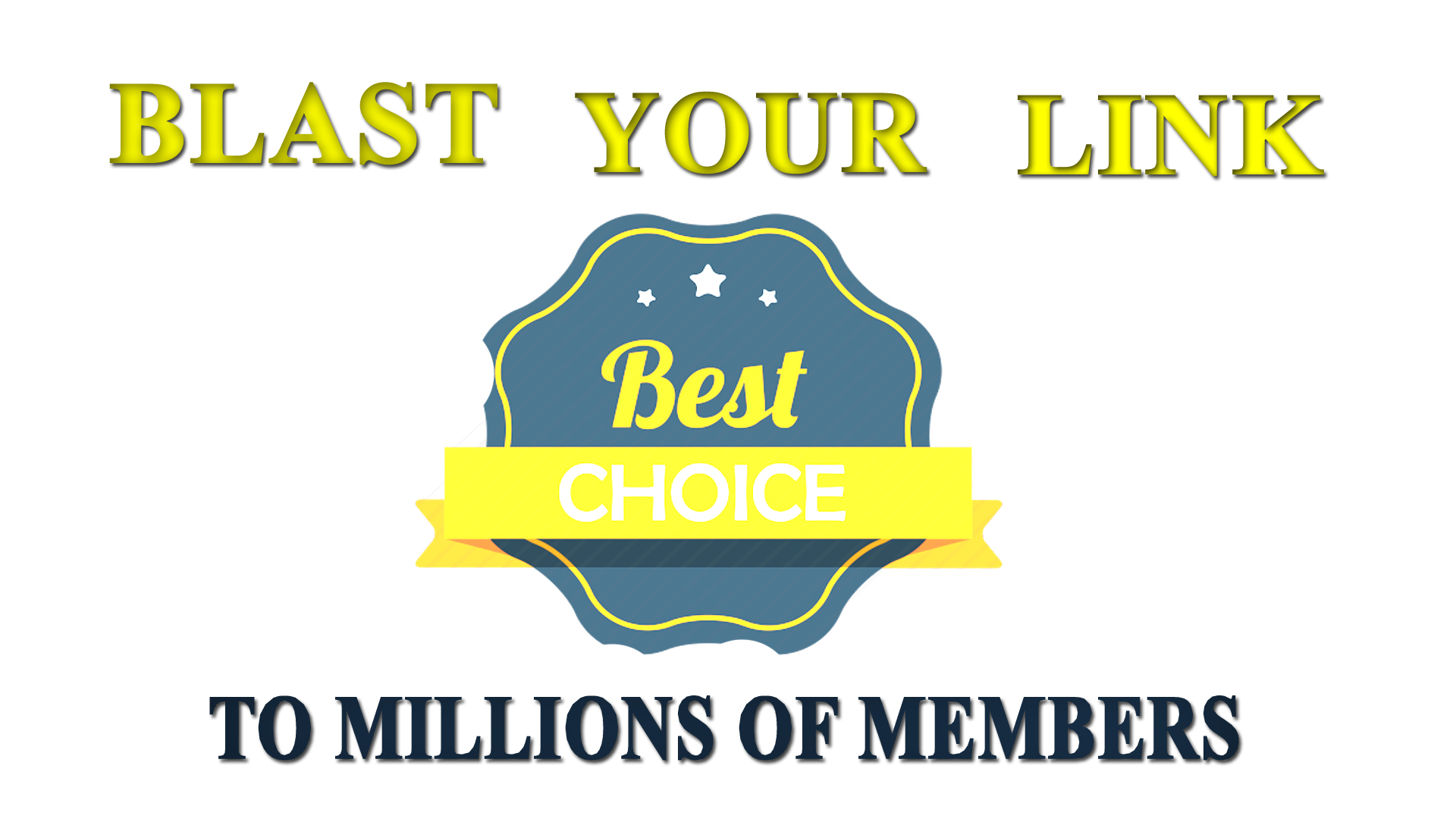 BLAST Your Link to 20Millions Social Members