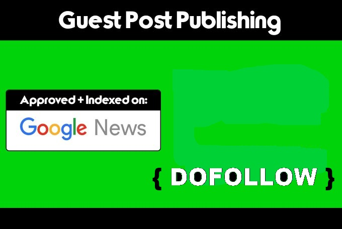 I Will Publish Guest Post On Google News Approved Site