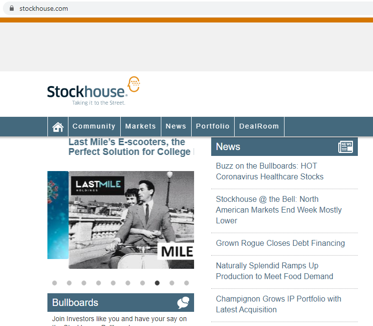 I will write and publish guest post on stockhouse. com da83 site