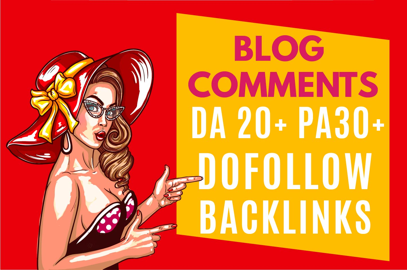 I will create 200 dofollow blog comment quality backlinks