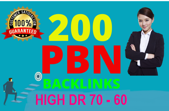 200 Permanent DR 66 Homepage High Quality PBN Backlink