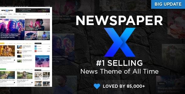 Themeforest Newspaper 9 WordPress theme