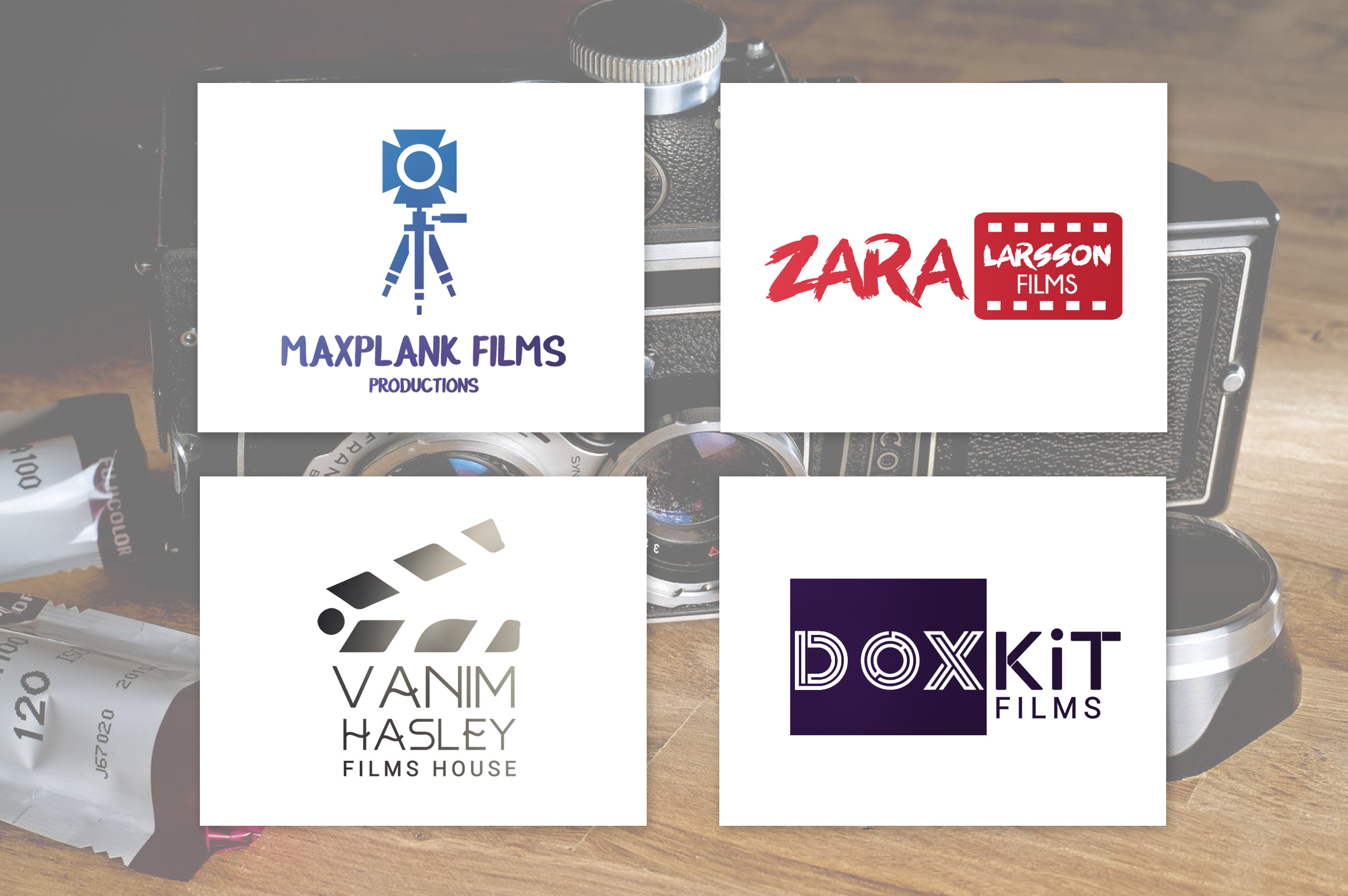 I will design your professional logo and buisness card