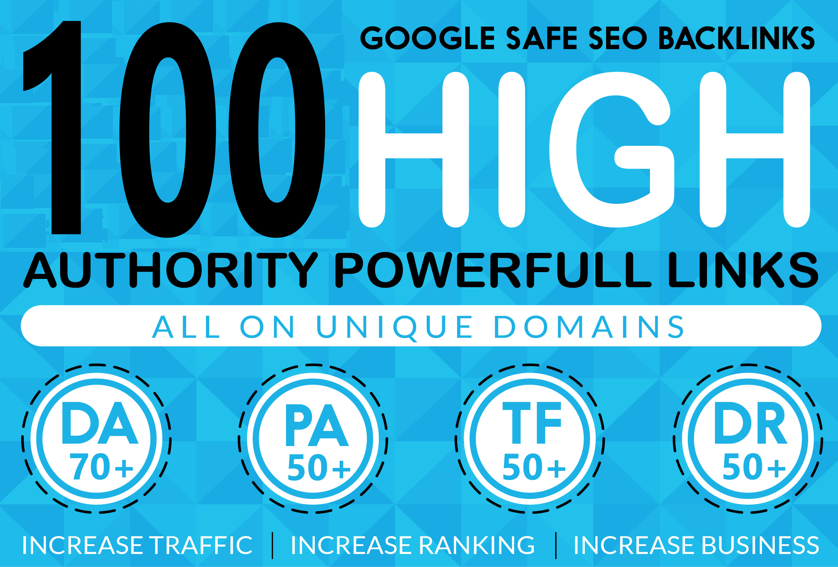 DR60+ High Quality 100 Homepage Backlinks all Dofollow DA PA TF CF web2.0 Backlinks