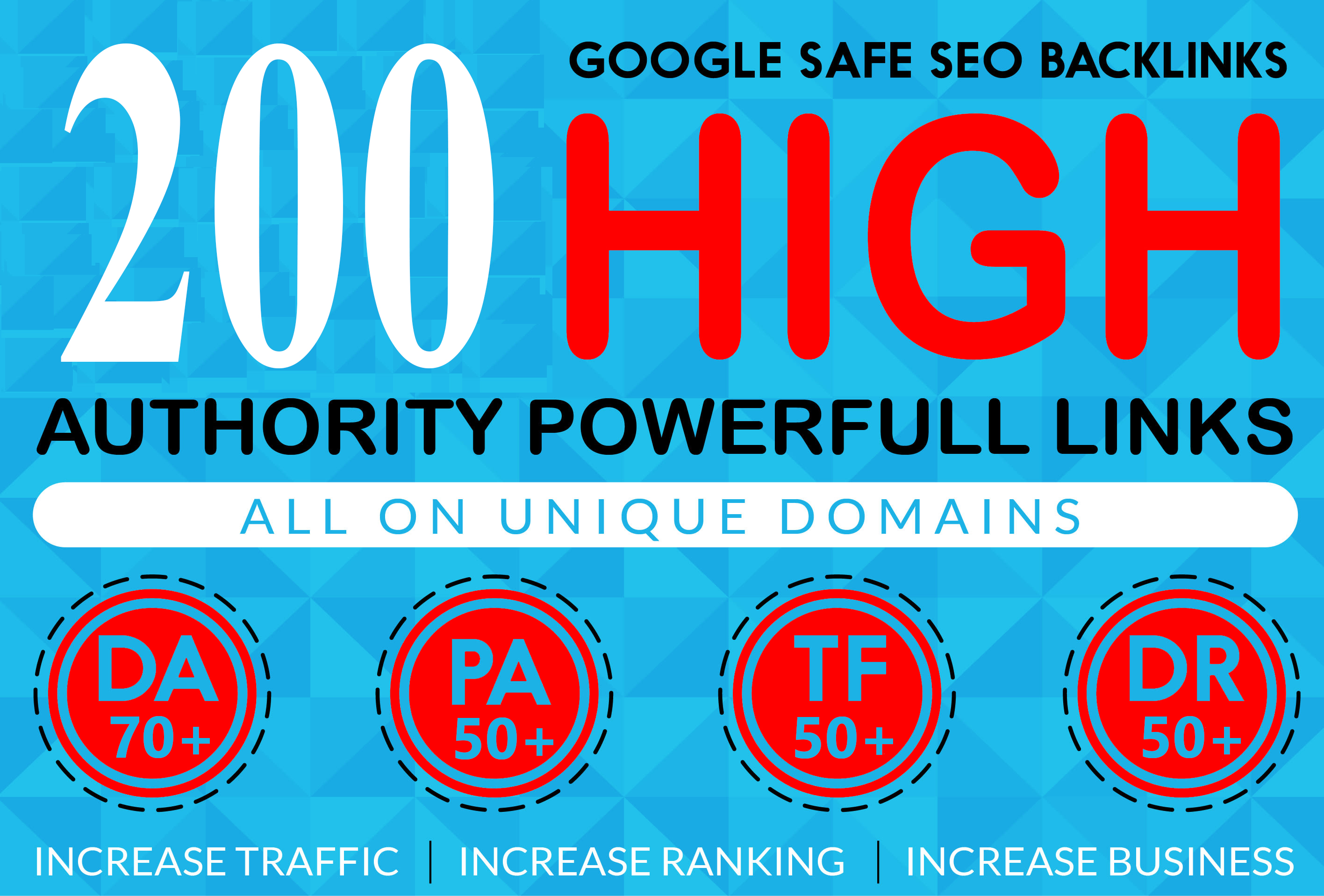 I Will Provide 200 High Authority Powerfull Homepage web2.0 Backlink 100 Permanent Dofollow