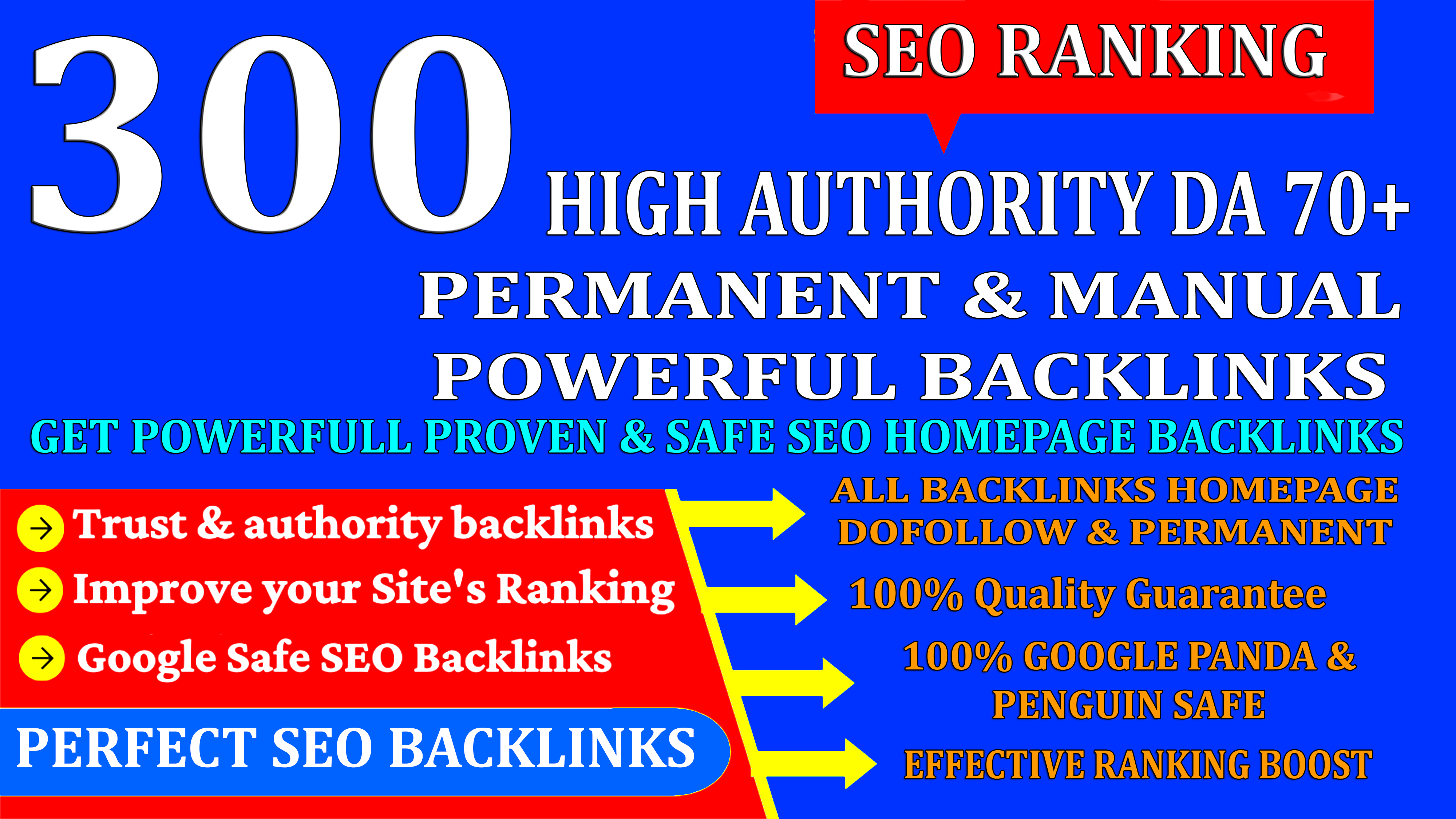 DR60+ 300 Web2.0 Homepage Backlink High DA/PA With Unique Website & Ranking Your Website