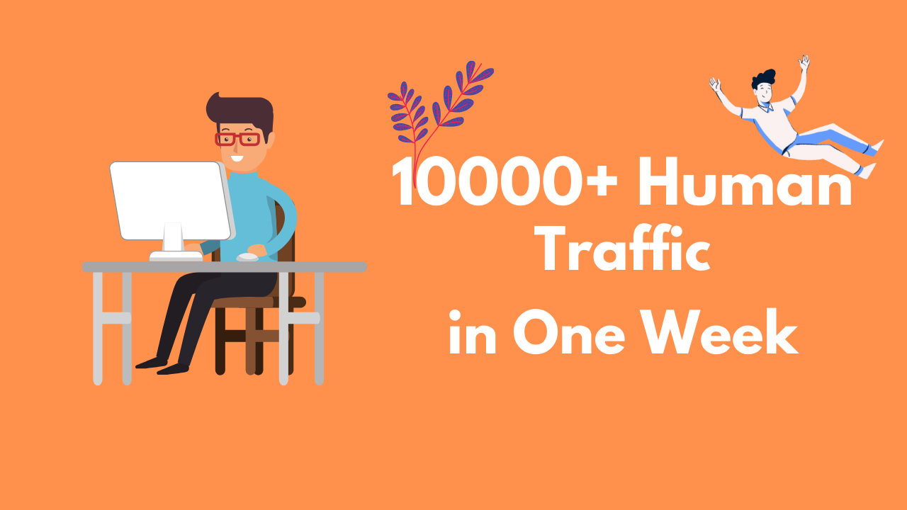 10,000 Real Traffic that can get You Guranteed Signups from Search Engines