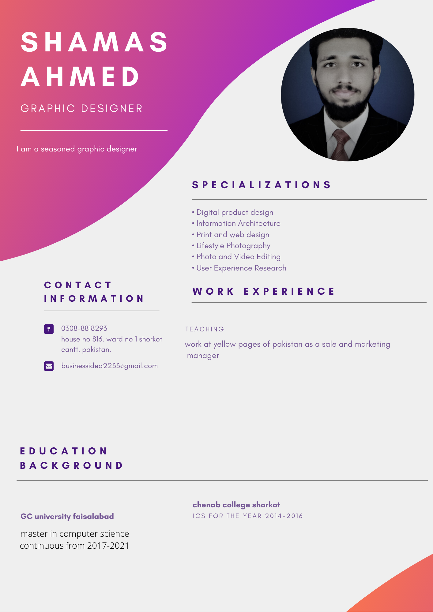 I will provide professional resume writing service and professional resume design