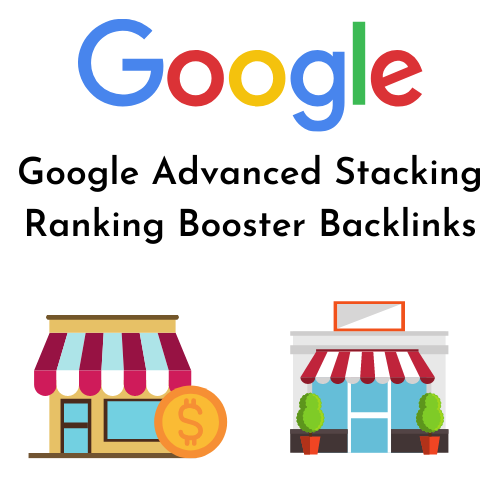 Google stacking and entity stacking to boost the ranking