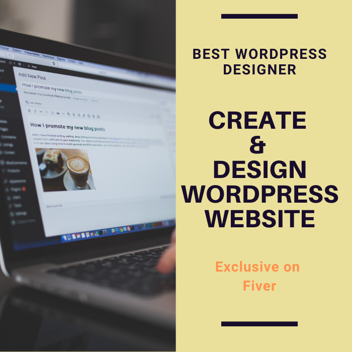 i will create and design wordpress site with premium theme and plugins.