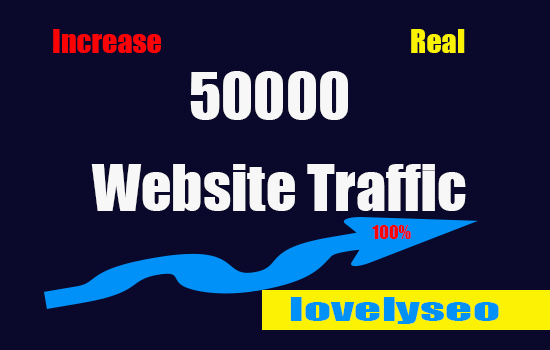 50000 Human Real Active Website Traffic From Social Media