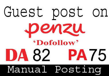 i can do guest post on penzu. com
