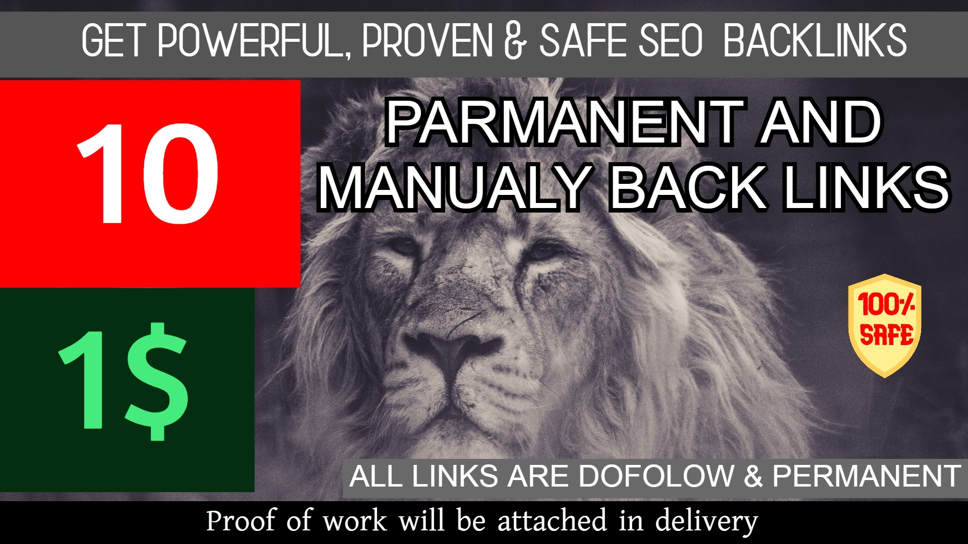 Powerful 10 Backlinks with Extremly High DA PA TF GET IT NOW