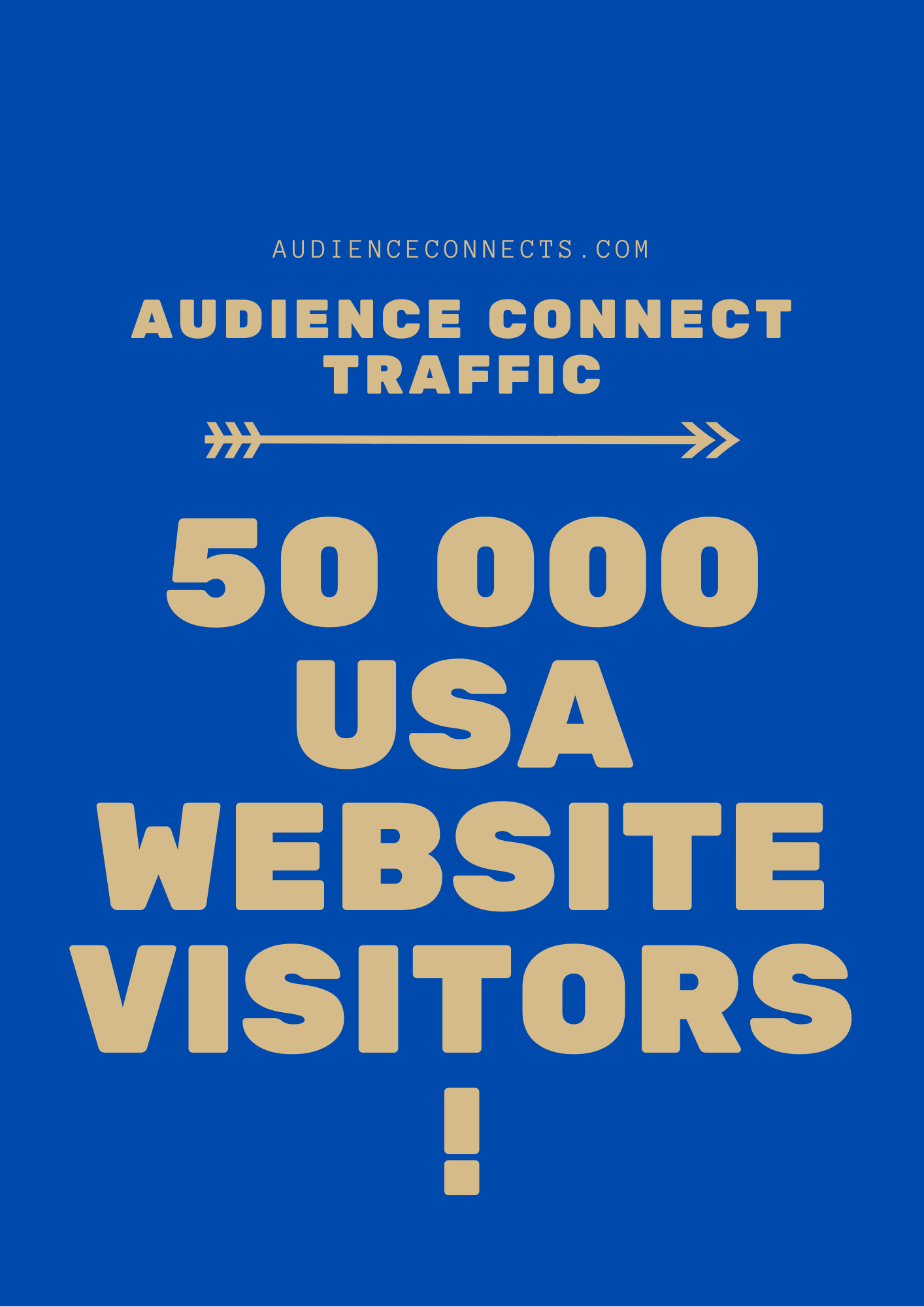 I Will Deliver 50 000 USA Website traffic visits to any URL