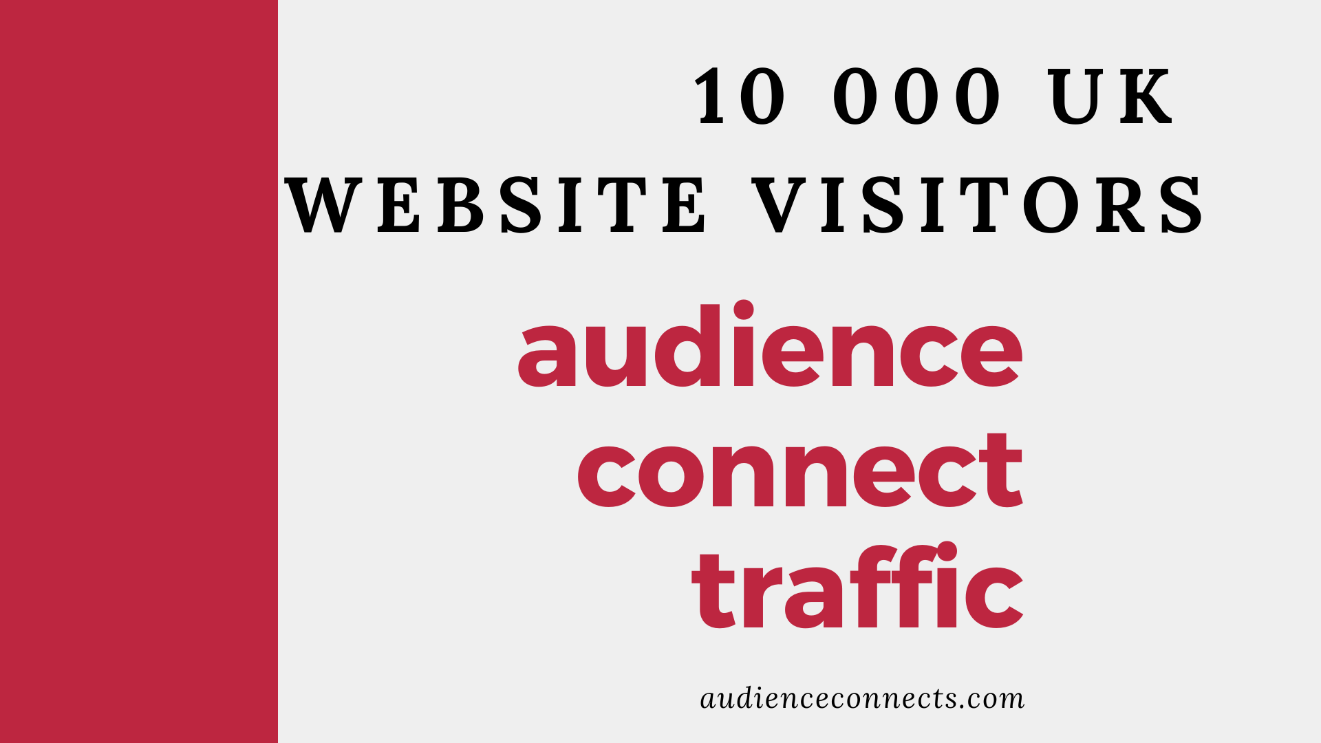 I will Provide you 10 000 UK Website Visitors To Any Website