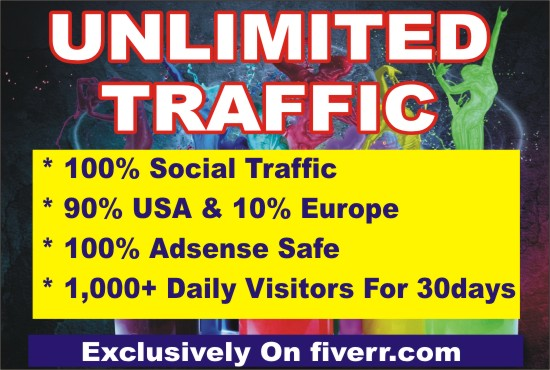 LET ME DRIVE SAFE ORGANIC HIGH-QUALITY WEB TRAFFIC TO YOUR WEBSITES AND BLOGS