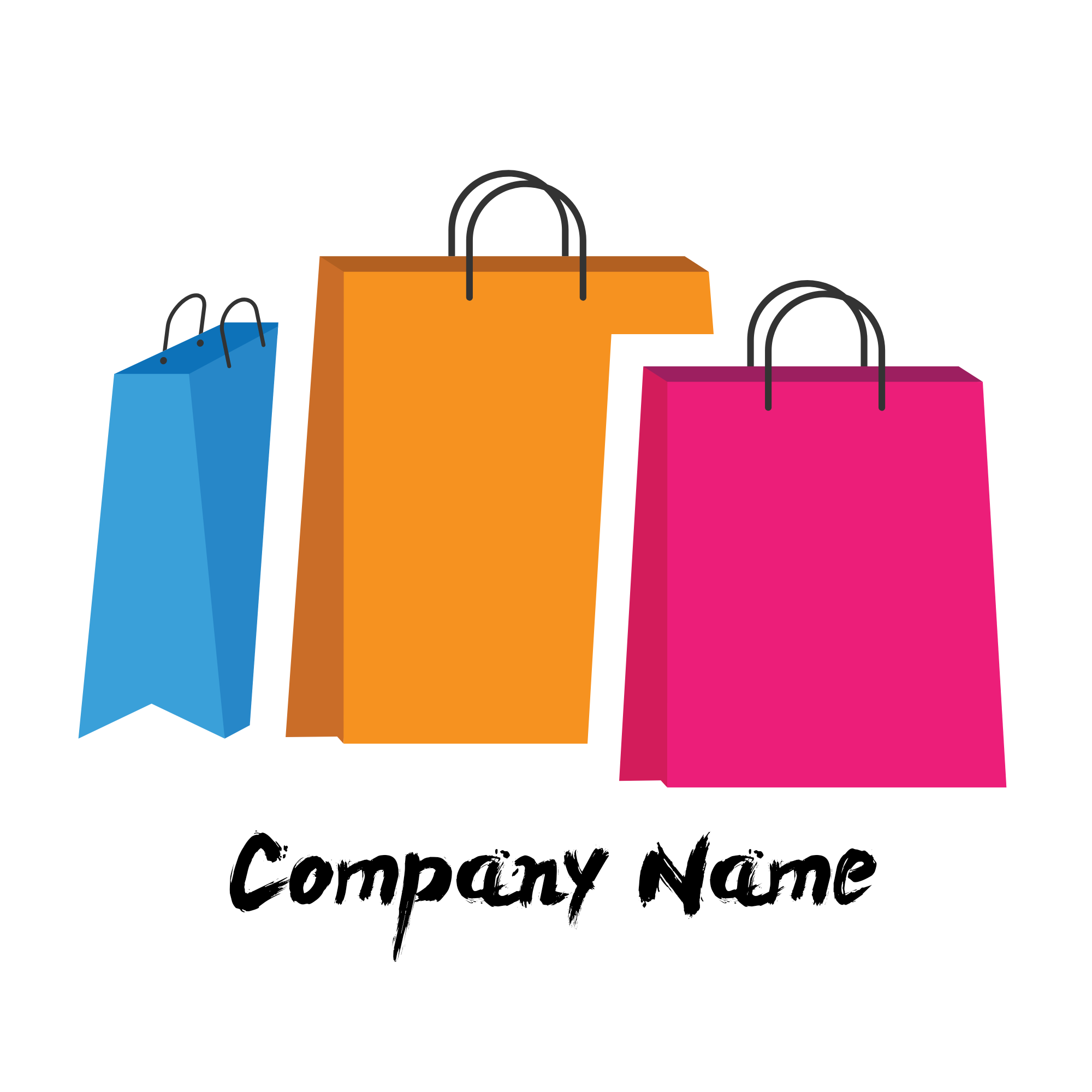 Professional and minimalist logo/graphic designs for web,  channel and business.