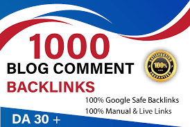 I will Create 1000 High Quality Dofollow Blog Comments Backlink