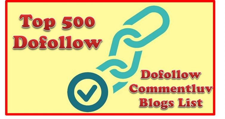 I will do 500 high quality dofollow blog comments backlinks
