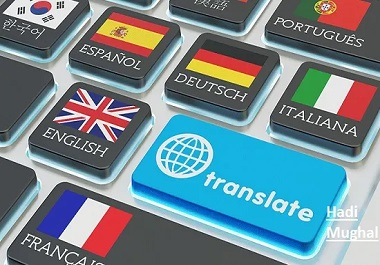 i will do translation, transcribe any language in 1 hour