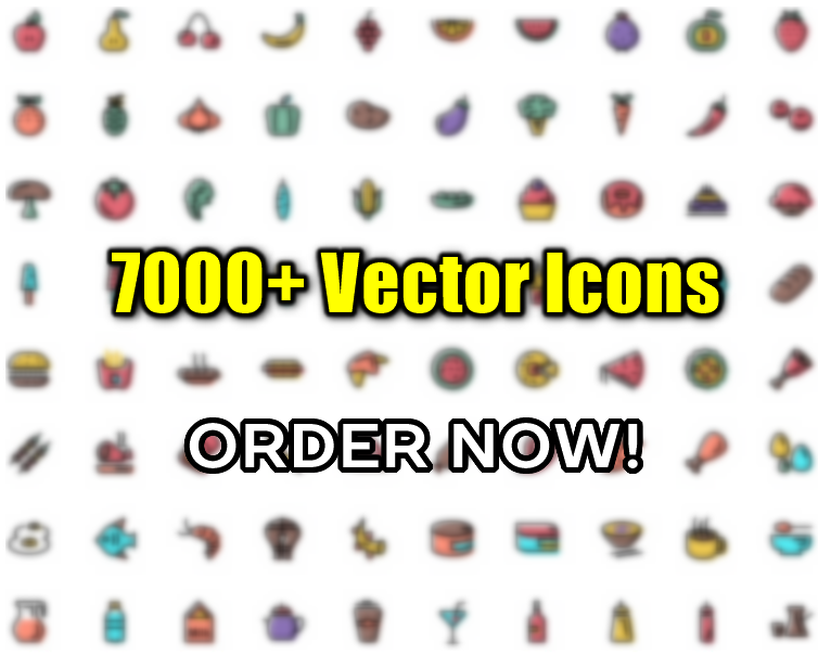 7000+ Vector Icons for Websites / Theme - Icon Set
