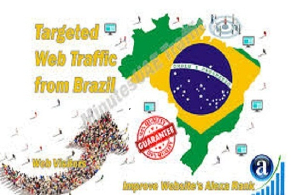 I will drive 20,000 brazil unlimited keyword targeted visitors