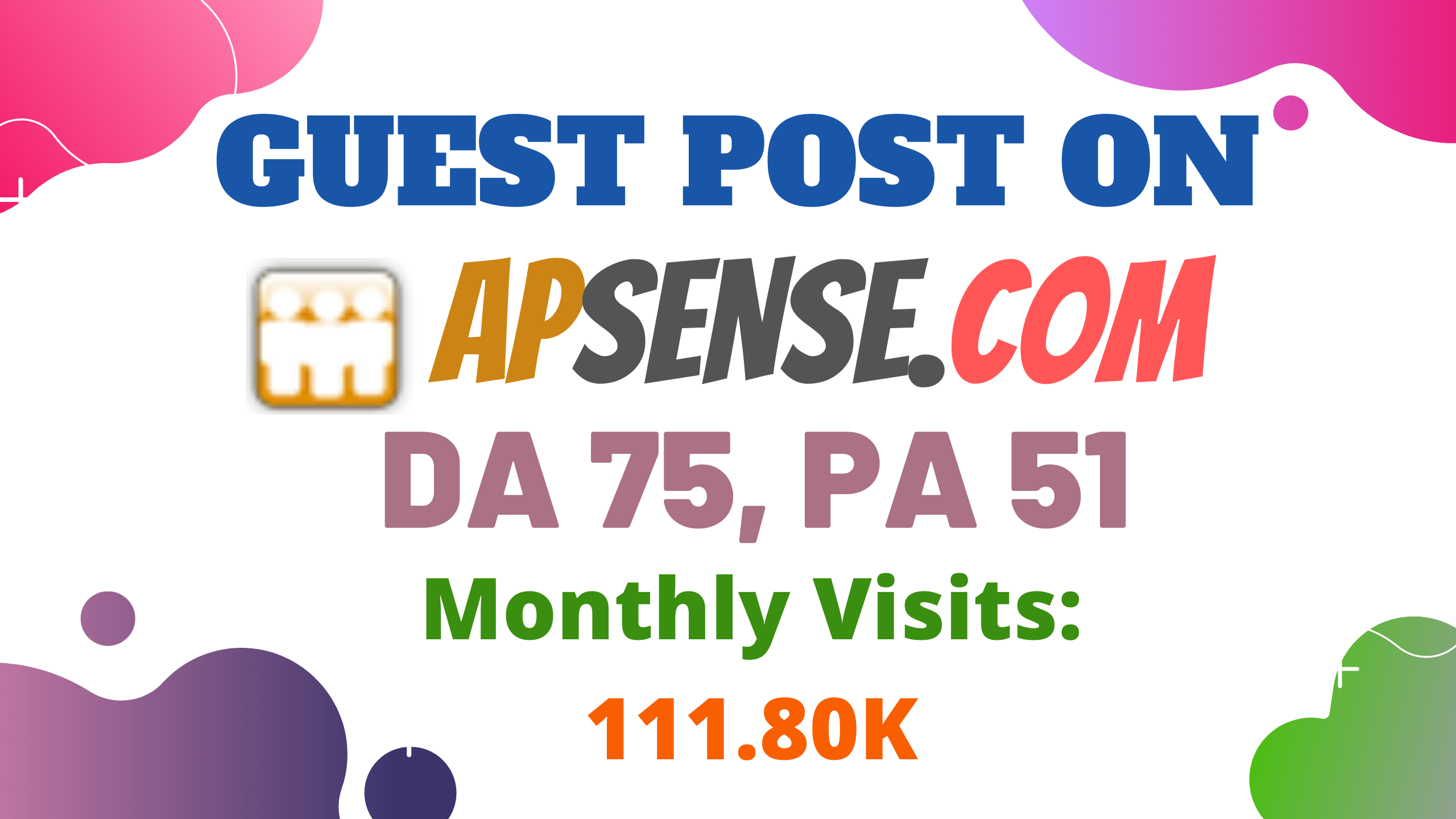 Publish Guest Post On High DA75 Business Networking Blog Apsense. com