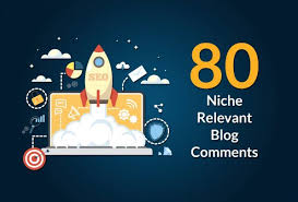 I will do 80 niche relevant backlinks manual blog comments