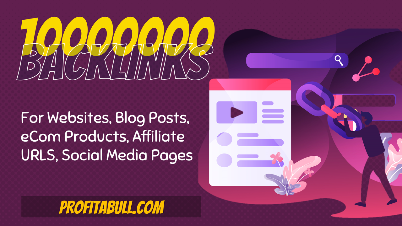 10 Million SEO Backlinks and Pings