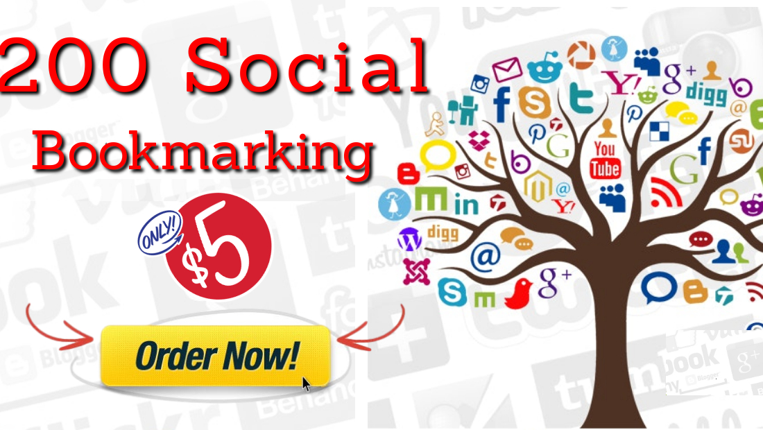 I Will Provide you High Quality200 Social Bookmarking