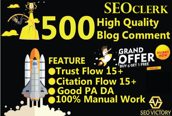 Get higher Top ranking I wil do 500 blog comments Dofollow High DA PA Backlinks