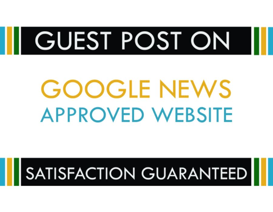 I will do guest post on my google news approved website DA 25
