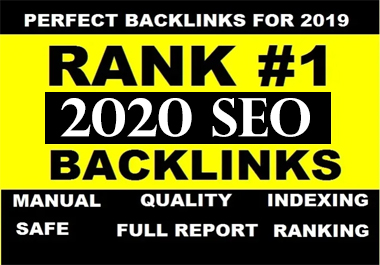 I will google SEO with manual high authority backlinks