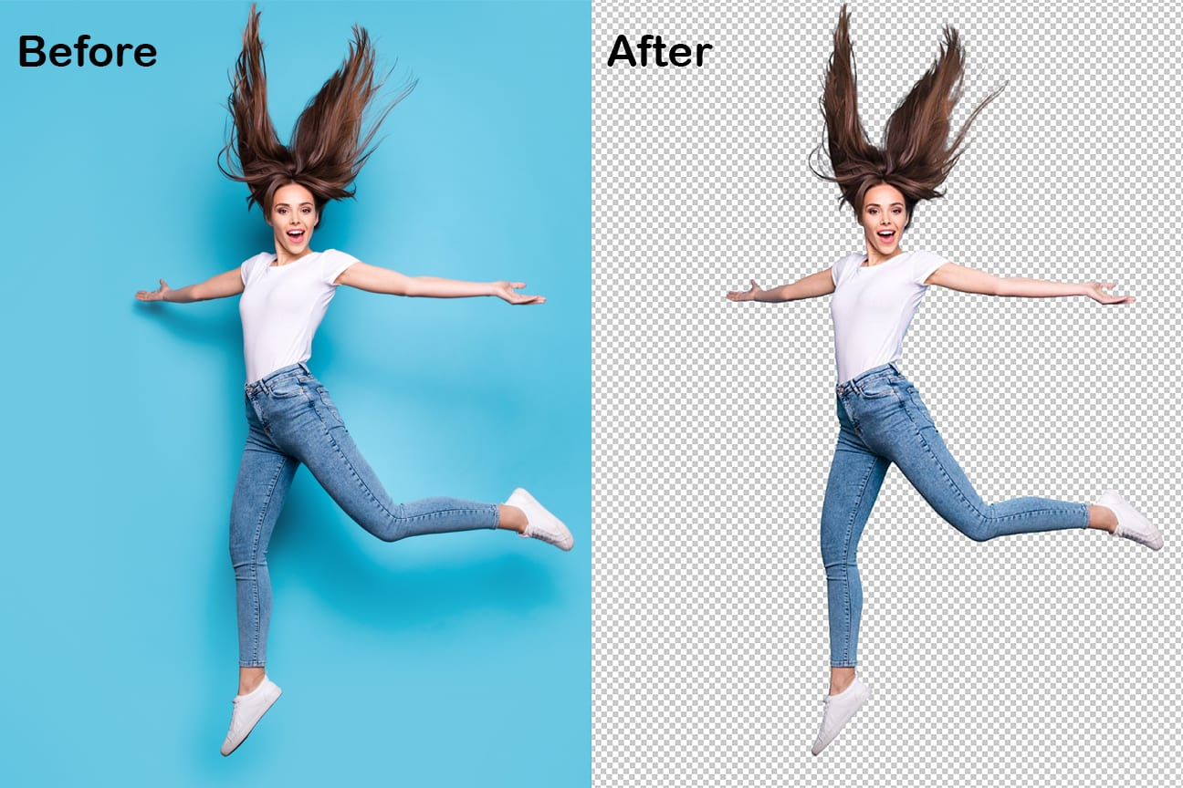 Background removal service 15 images