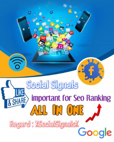 Powerful Top Platform 500,000 SEO Social Signals / Bookmark / Backlinks / Help First Page Google