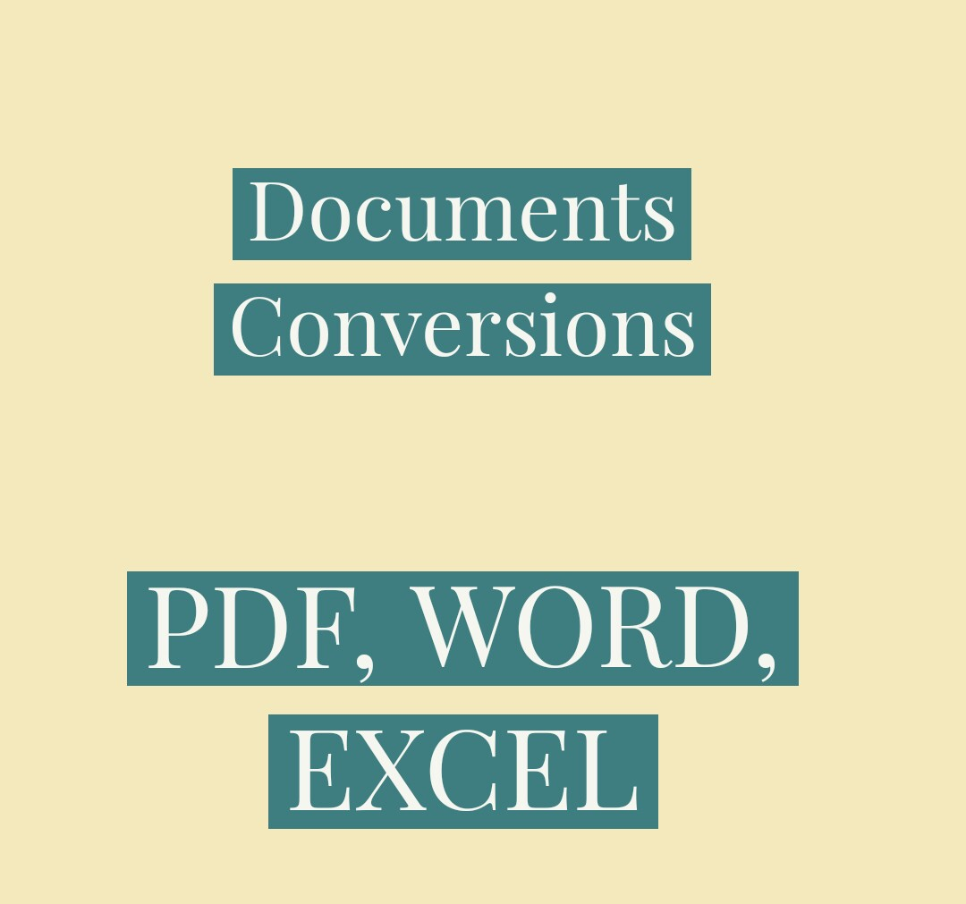 I will convert your word & excel document to PDF with password encryption