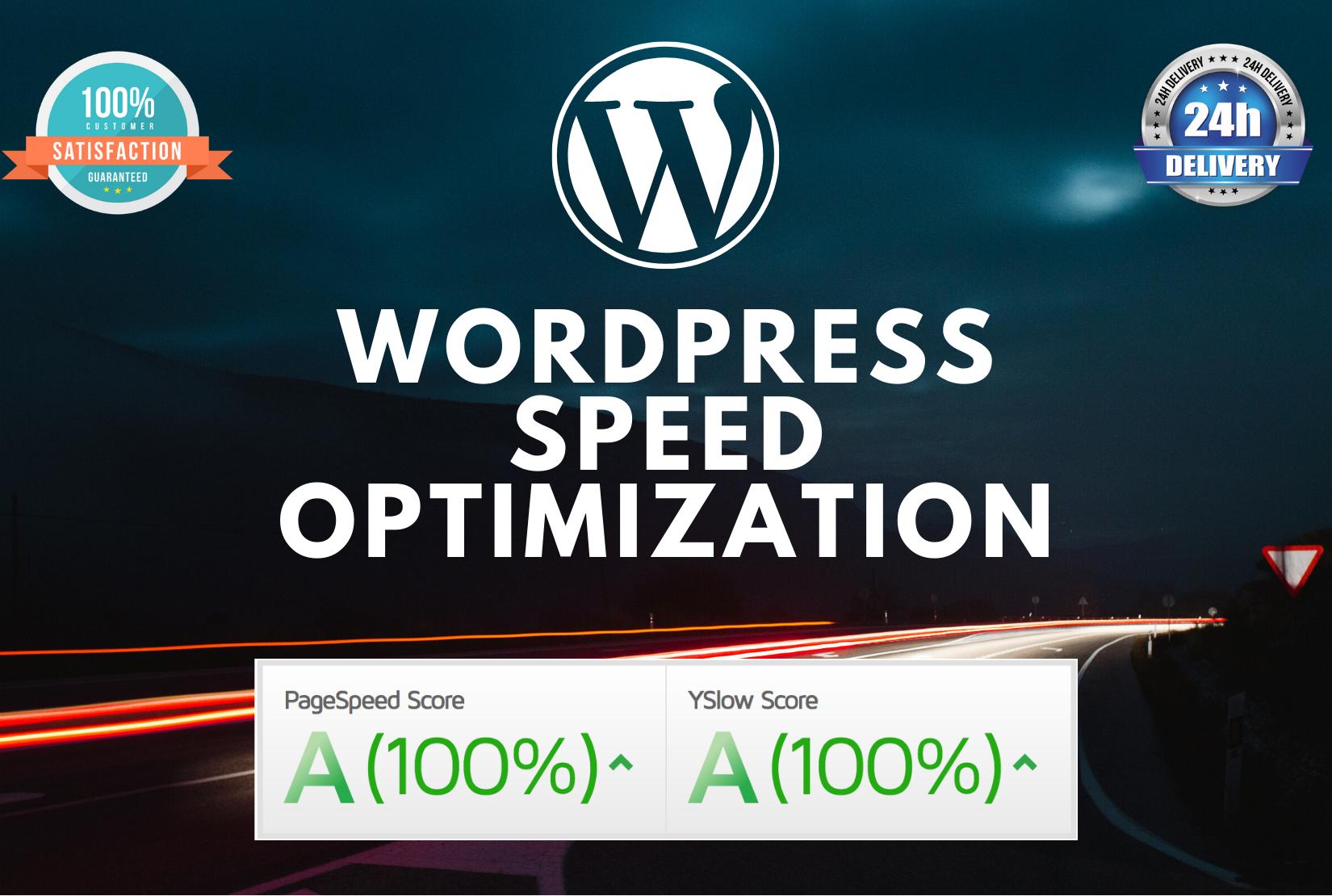 I will do wordpress speed optimization and increase gtmetrix page speed