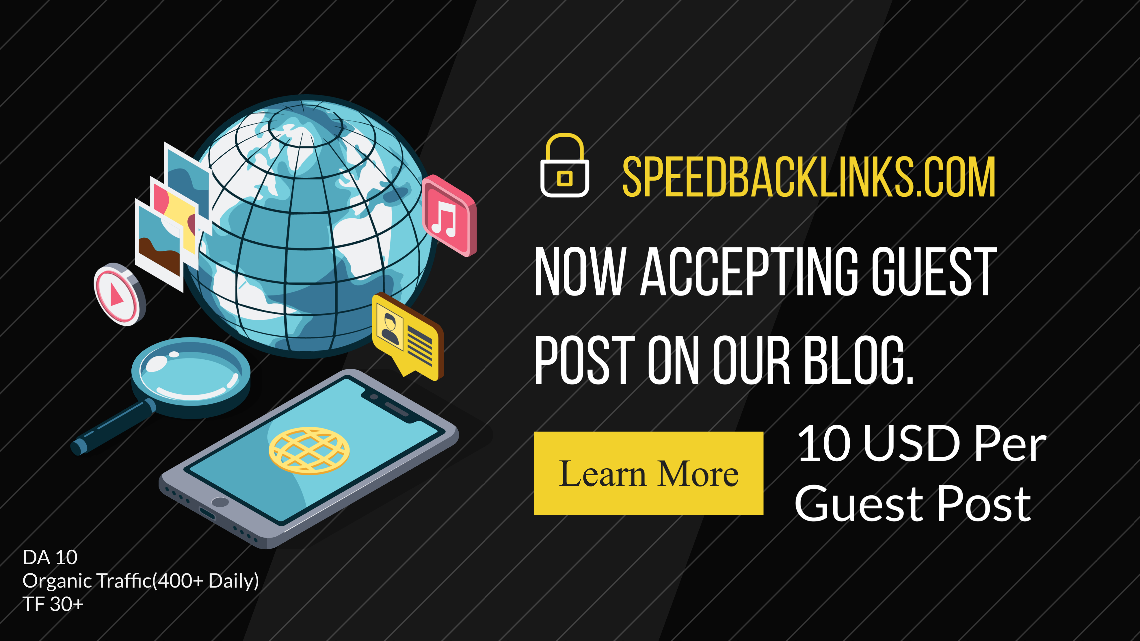 will provide you a guest post on our blog