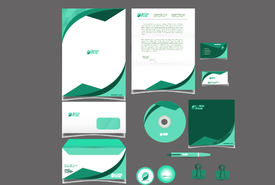 Design a Business Card and Stationery Item