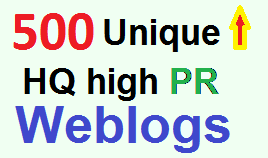 Increase Google Ranking with over 500 Unique High PR,  DA,  PA,  Web 2.0 Backlinks for Organic Traffic