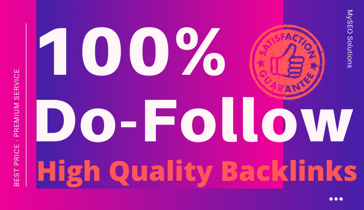 Build 150 High Quality 100 Do-Follow Backlinks - Mix Platforms
