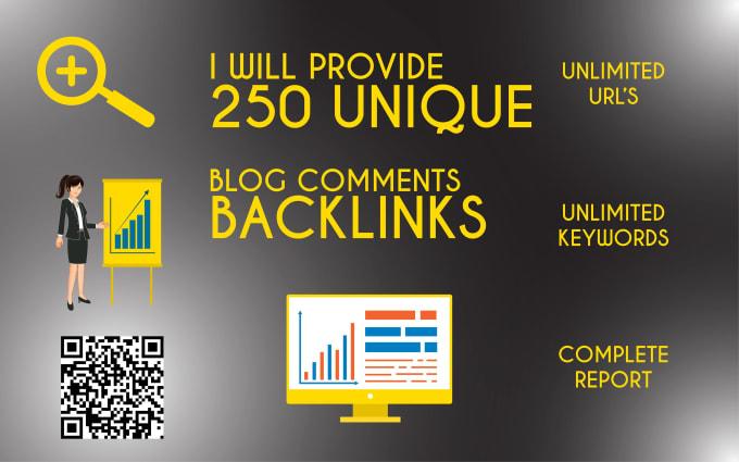 i will do unique domain dofollow blog comment in high da,  pa
