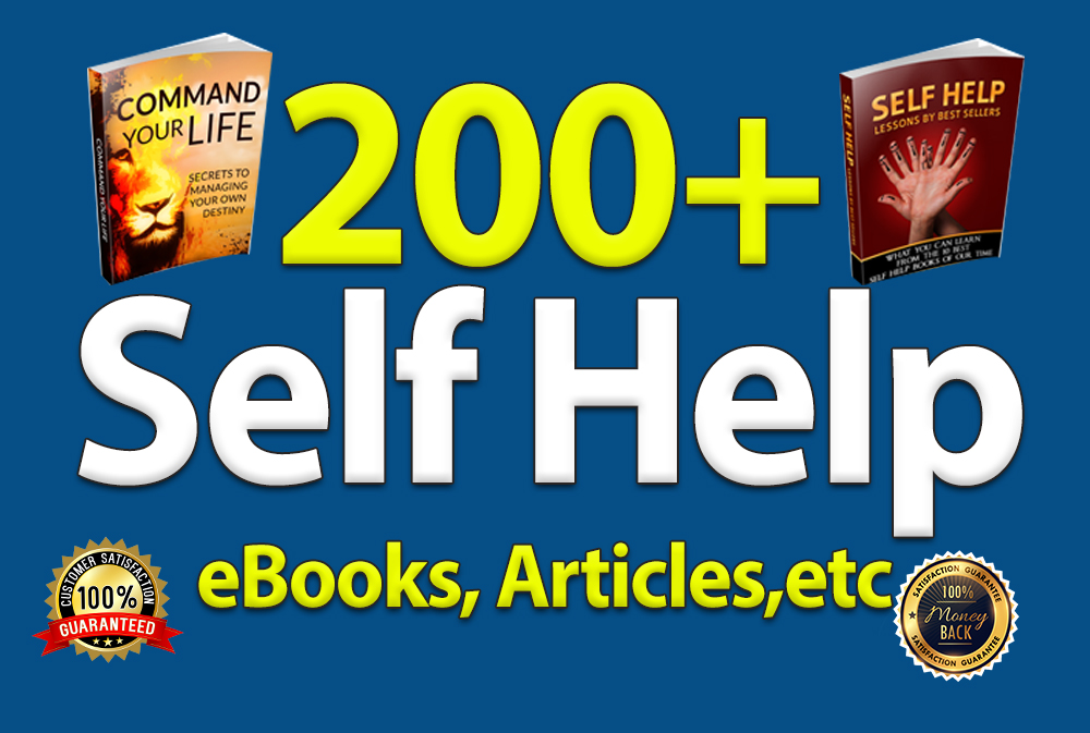 personal development self help ebooks pack