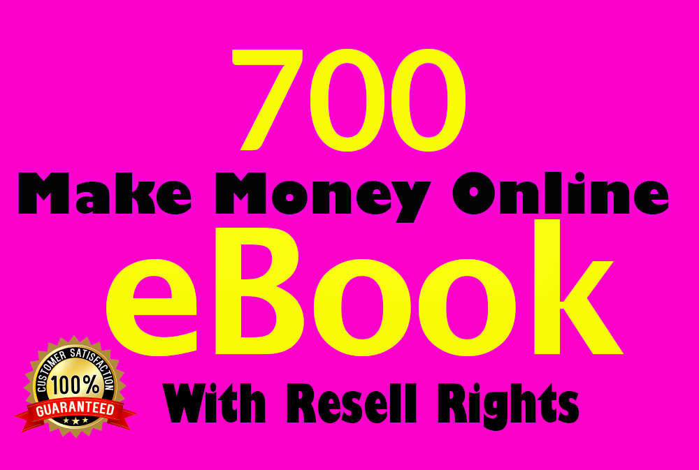 700 make money online ebooks with resell right