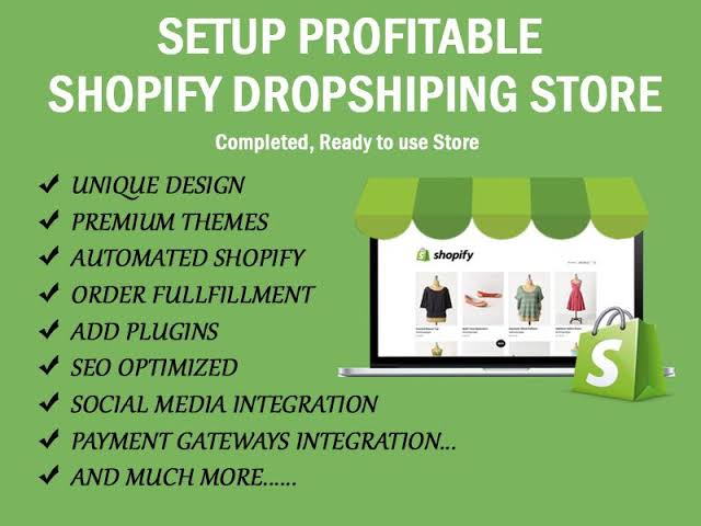 I will build you a High Converting Shopify Store or edit your previous Shopify Store