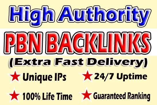 Get 200 powerful PBN BACKLINKS to boost your website ranking