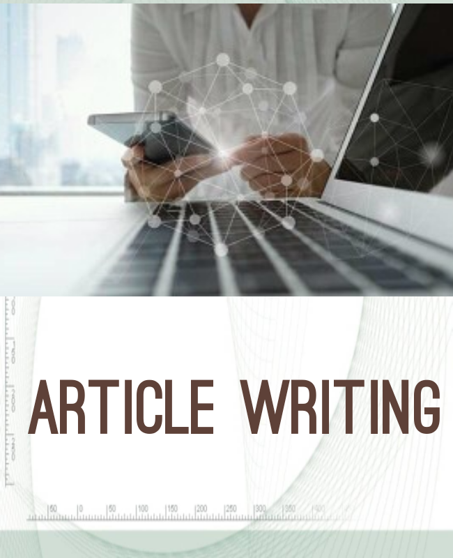 I will write 1000 words article, content writing, blog writing in any topic.